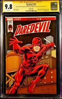 MARVEL Comics DAREDEVIL #595 CGC SS 9.8 Original Sketch PUNISHER KINGPIN ELEKTRA