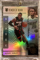 2019-20 Panini Illusions Holo Kendrick Nunn Rookie Card RC Refractor Miami Heat
