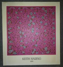 KEITH HARING (1984) OFFSET LITHOGRAPHY NOUVELLES IMAGES 1986 PRINTED IN FRANCE