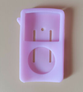 Silicone Rubber Skin Soft Case Cover-For iPod Video 60GB 80GB ClassicTHICK THIN