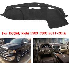 Fit For DODGE RAM 1500 2500 2011-2016 Dashmat Dashboard Mat Dash Cover Carpet