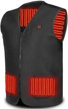 Heated Vest Lightweight Waistcoat Washable Warm Jackets for Men Women  (Size:XL)