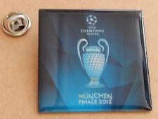 "Pin / Anstecknadel ""UEFA CHAMPIONS LEAGUE FINALE München 2012""  NEU & OVP"