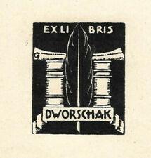 FRIDL ERBEN: Exlibris für Dworschak