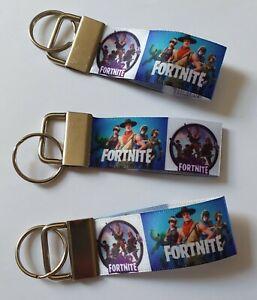 Fortnight Fortnite Style Xbox Playstation Switch Keyring Key Fob Handmade Gift