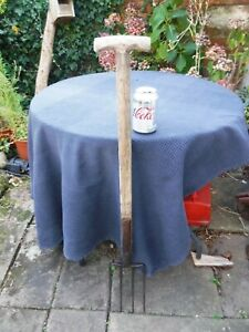 Vintage T Handled UNITY Ladies Garden Fork Allotment - Great Condition