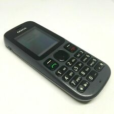 NOKIA 101 RM- 769 Phantom Black (Unlocked) Cellular Dual Sim Mobile Phone