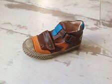 P23 - Chaussures Garçon Loup Blanc NEUVES - Modèle Darby Marron (90.50 €)