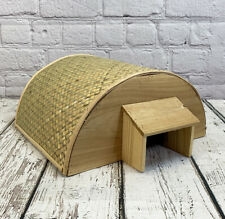 Factory Second - Bamboo Hogitat Hedgehog House Shelter