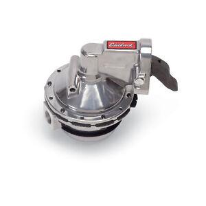 Edelbrock 1711 Mechanical Fuel Pump Victor Series Racing 130 gph Gas Only SBC V8