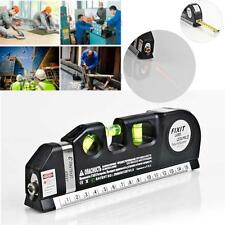 Multipurpose Level Laser Horizon Vertical Measure Tape Aligner Bubbles Ruler 1PC