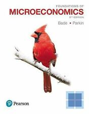 Foundations of Microeconomics by Michael Parkin and Robin Bade (2017, Paperback)
