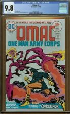 Omac #4 CGC 9.8 White Pages ~ Jack Kirby / Stan Lee 🔑