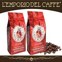 Caffè Borbone 1 kg Grani Beans Miscela Red Rossa - 100% Vero Espresso Napoletano