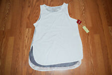NWT Womens TANGERINE Ivory Exercise Active Fitness Tank Top Shirt XXL 2XL