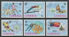 Liberia - 1976, Winter Olympic Games set - CTO - SG 1260/5 (k)