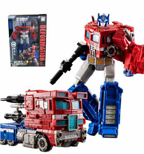 BPF Transformers War for Cybertron Siege Voyager Optimus Prime Figure 18CM Toy