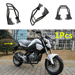 Universal Motorcycle Rear Luggage Rack Tail Seat Extension Tool Box Bag Bracket