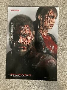 Metal Gear Solid V The Phantom Pain Promo Blood Poster