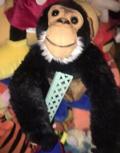 HTF REALISTIC LIFE SIZE BENDABLE POSABLE QUALITY Chimpanzee Chimp 2FT Plush