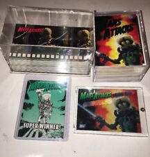 1994 Topps Mars Attacks Card Set Autograph And Super Winner Card Wide Vision Set