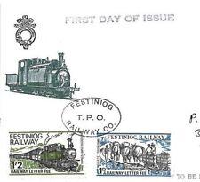 GG300 GB Wilding WALES REGIONAL 1969 *Ffestiniog Railway* Stamps First Day Cover