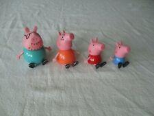 Peppa Pig 4 Figures Lot Toys