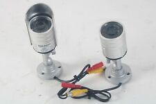 SVAT 11002 High-Resolution Outdoor Night Vision Security Camera LOT of 2
