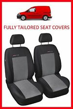 Volkswagen Caddy Van 1+1 FULLY TAILORED SEAT COVERS (2003 - on)  - PATTERN 2