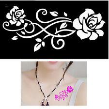 Body STENCIL per tatuaggio tattoo temporaneo colori henné INTRECCIO DI ROSE