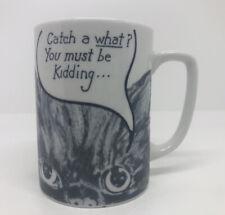 Vintage 1984 Seace Cat Coffee Mug