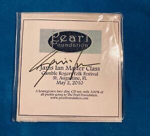 Janis Ian: Master Class 2 CD set Gamble Rogers Folk Festival, May 2010 signed