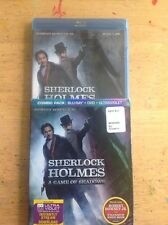 Sherlock Holmes:A Game of Shadows (Blu-ray/DVD,2012,2-Disc,Digital)NEW Authentic