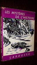 LES MYSTERES DE L'HISTOIRE - Roger Régis 1956 - Ill. Wilquin