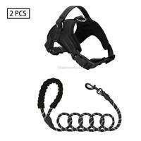 Dog Harness Medium Reflectivie Adjustable No Pull Nylon for S/M/L/XL Dogs
