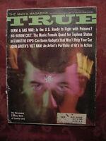 TRUE November 1967 Nov 67 Timothy Leary LSD William Bradford Huie Andrea Doria