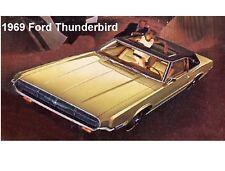 1969 Ford Thunderbird Auto Refrigerator / Tool Box  Magnet
