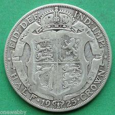 1925 George V Silver Half-Crown SNo18082