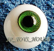 Glass Eye 12mm Green vein fits Volks YOSD 1/6 Lati PF