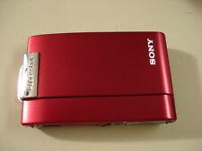 Nice SONY CyberShot DSC-T200 Digital Camera Red