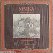 Age of Exploration SIMBA The King of the BEASTS 1928 Saga Africa Veldt Laserdisc