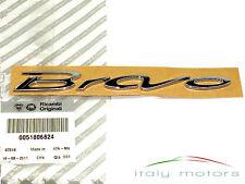 Fiat Bravo 07-09 original Scritta modello Stemma posteriore cromo 51806824