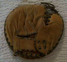 Vintage 1950 Leather Baseball Catcher's Mitt - Left Hand