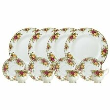 Dinnerware Sets Royal Doulton-Royal Albert Old Country Roses 12-Piece Set, for 4