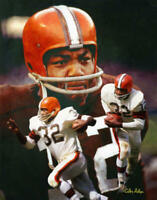 Jim Brown Cleveland Browns Running Back NFL Football Art 1 8x10-48x36 CHOICES