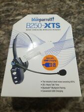 BlueParrot B250-XTS Extreme Noise Cancelling Bluetooth Headset - Blue
