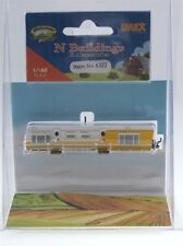IMEX N Scale 6322 1954 Whitely House Trailer Built Up and Painted Stucture New!