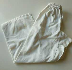 Century Martial Arts Gi Pants Size 4 White Kids Tae Kwon Do Karate