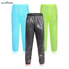 Cycling Rainproof Trousers Water Resistant Bike Wear Lightweight Non-slip Pants