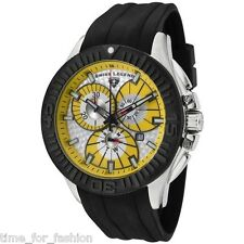 Swiss Legend Men's Watch Evolution Chronograph Rubber Strap 10064-07-BB